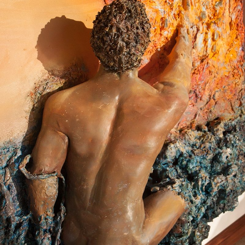 3D Oil Painting Sculptures by Diana Luckysova